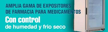 Expositores de farmacia